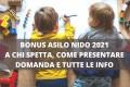 domanda Bonus Asilo Nido 2021