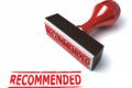 raccomandazione lavoro